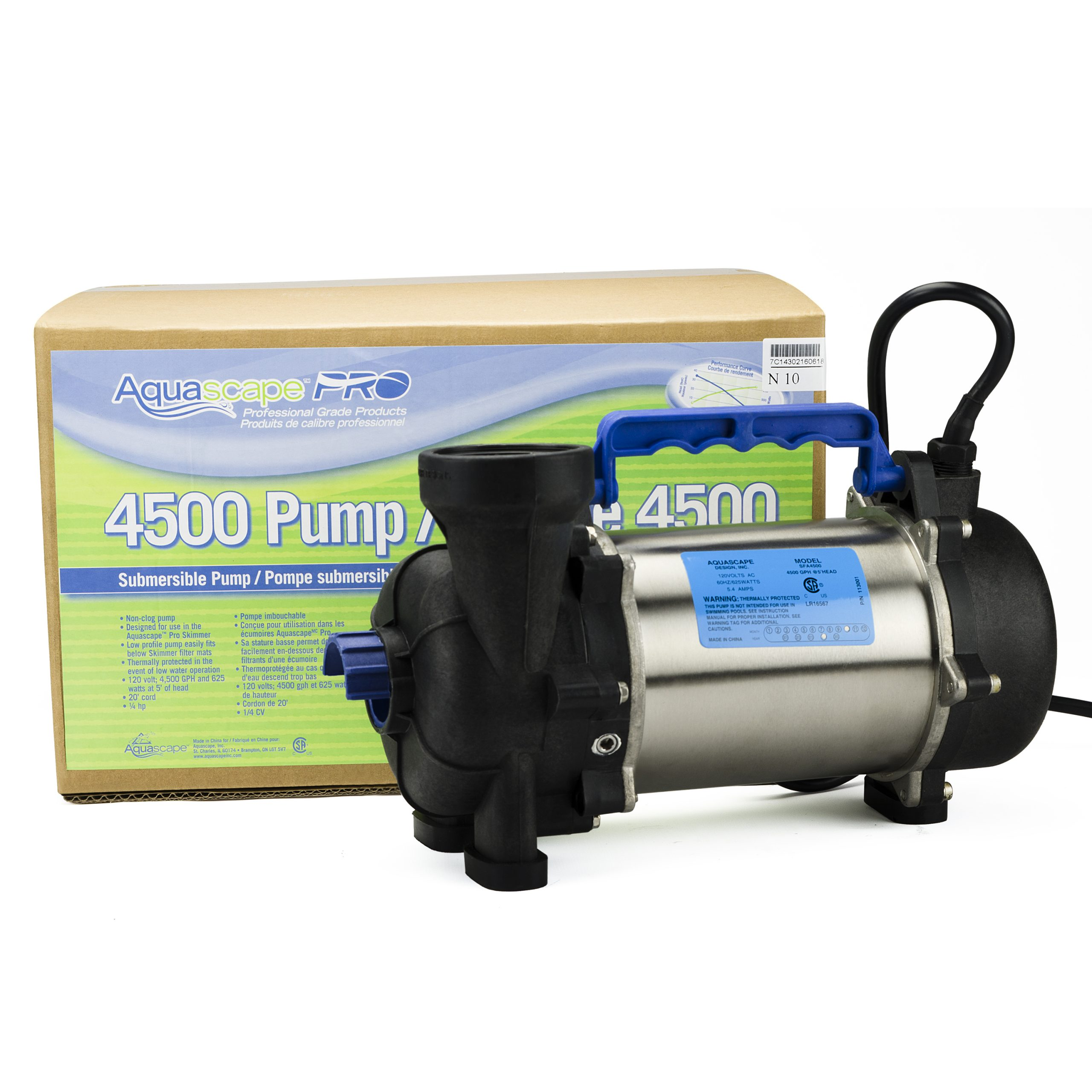 Aquascape Aquascapepro Pond Pump 4500 Gph 20003 Azponds Supplies