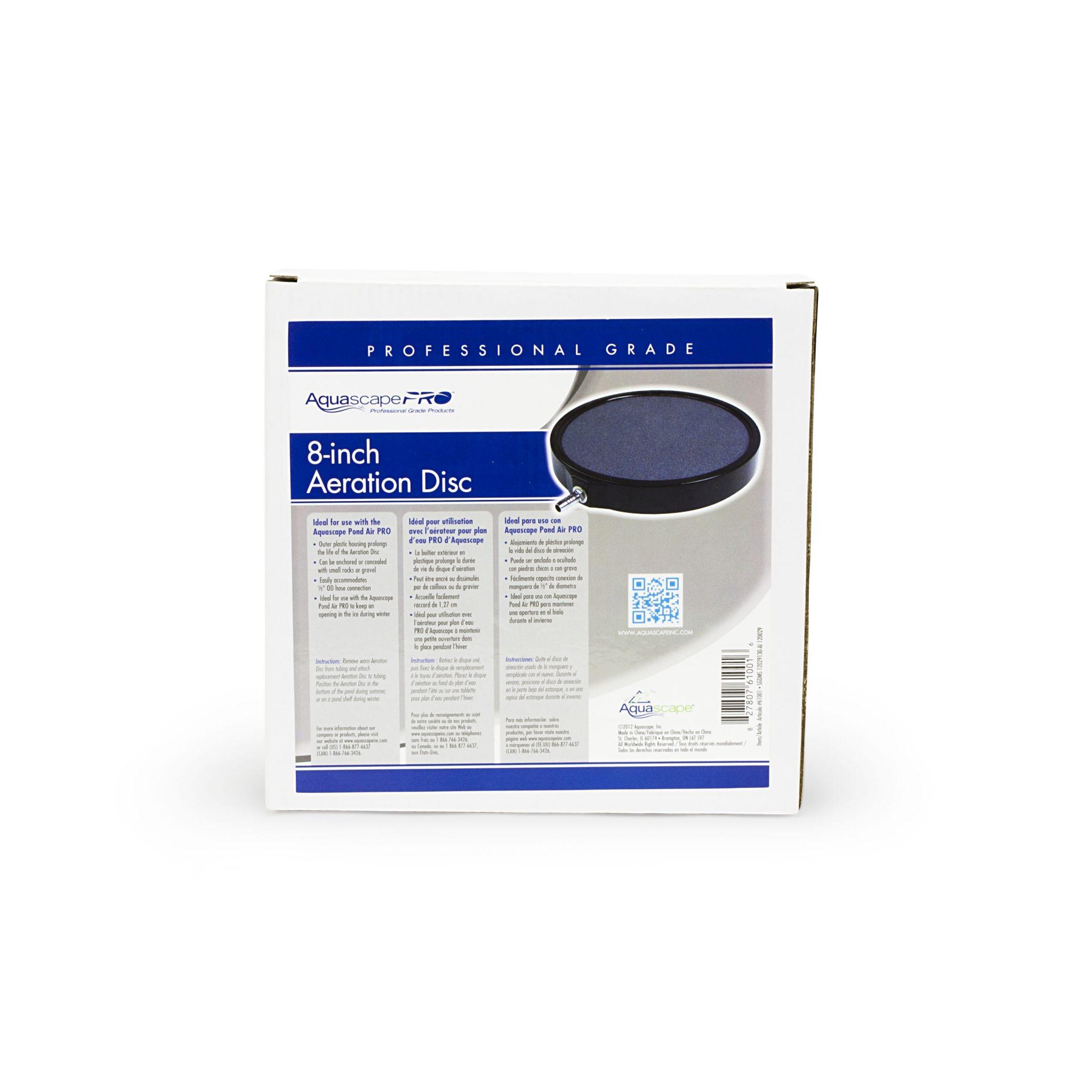 Aquascape Pond Aerator PRO 8in Aeration Disc - 61001 ...