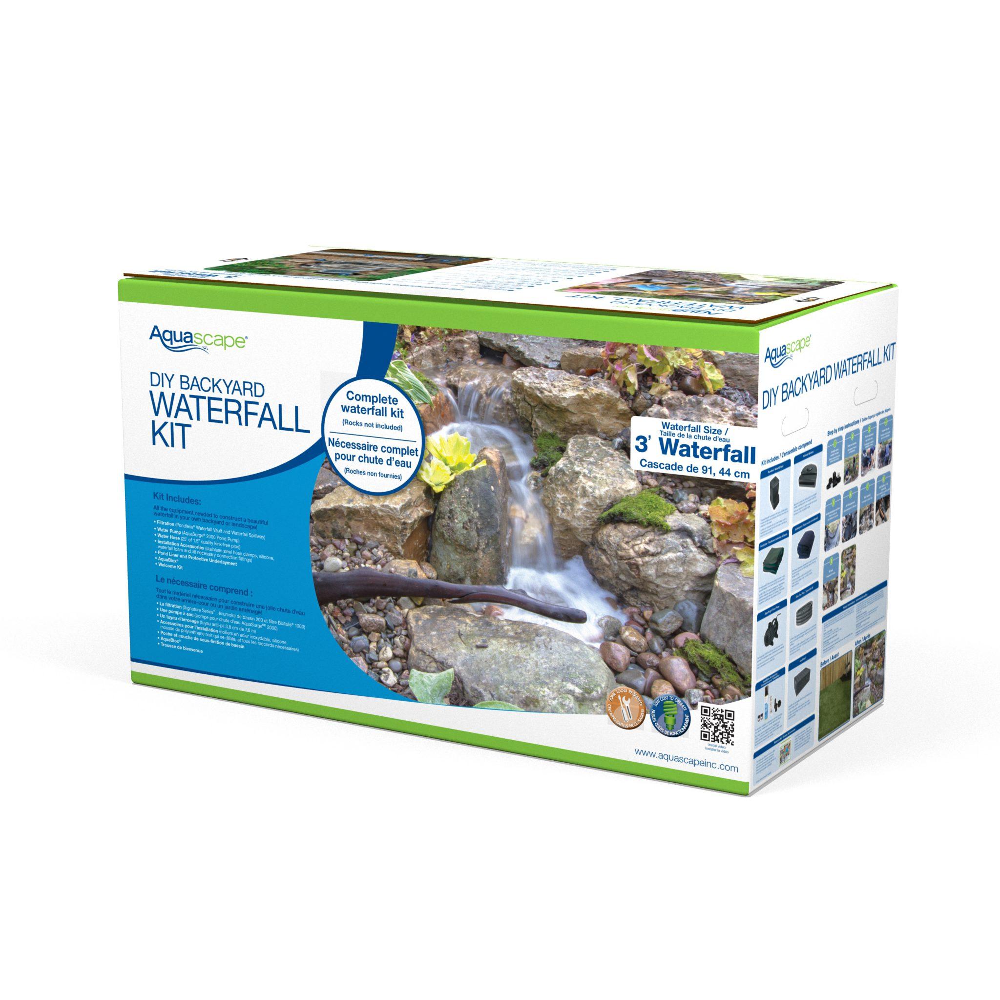Aquascape DIY Backyard Pond Kit - 8x11 - 99765 - AZPonds ...