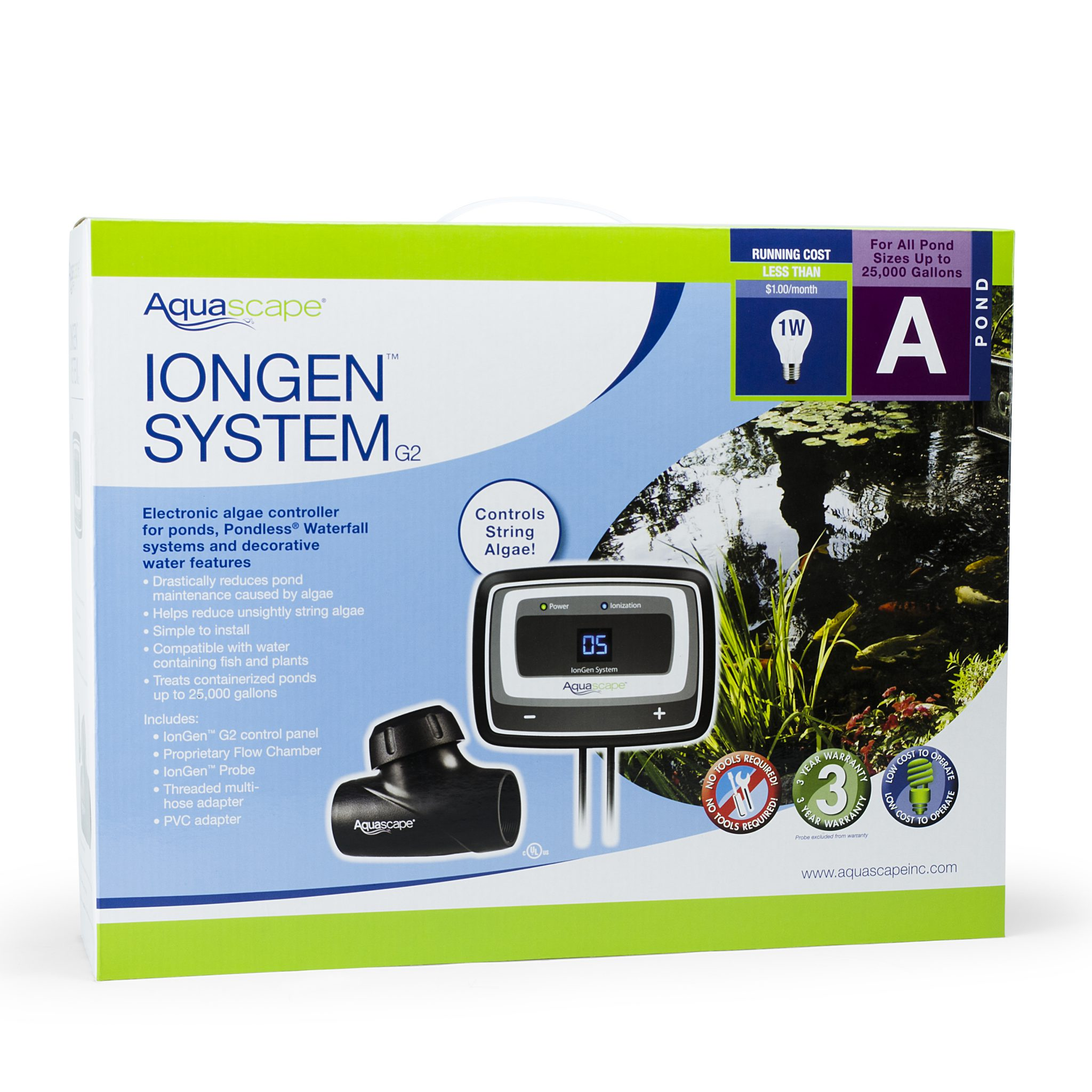 Aquascape IonGen System G2 - 95027 - AZPonds & Supplies